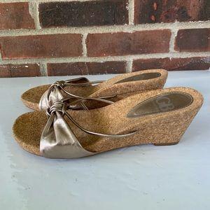 Like new Gianni Bini slip on sandals